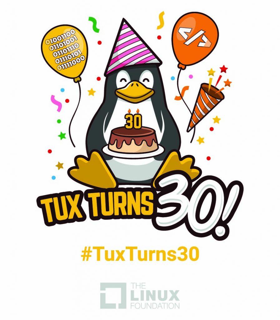 ۳۰ سالگی لینوکس